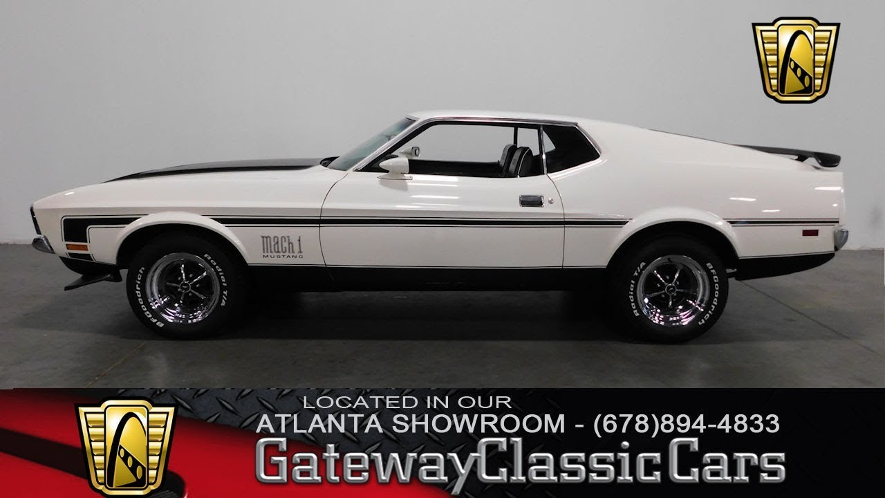 1971 Ford Mustang - Gateway Classic Cars of Atlanta #572 - YouTube