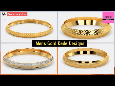 Gold Kada Designs For Men With Price Weight Kada For Man Youtube