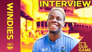 Shimron Hetmyer's First Test Match Memory | Interview