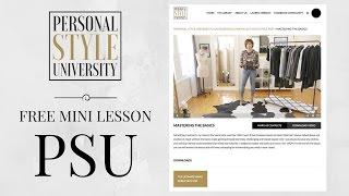 FREE Mini Lesson From PSU: The Right Stuff