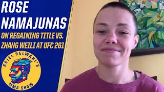 Rose Namajunas describes her emotions after beating Zhang Weili | Ariel Helwani's MMA Show