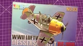 Tiger Models BF-109 Cute Plane Kit