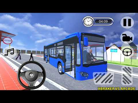 Offroad Metro Bus Game: Bus Simulator New Bus Unlocked Android Gameplay 2018