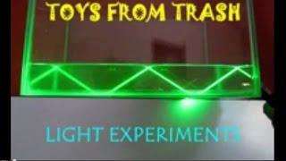 Light Experiments | Telugu | See Light Travel!