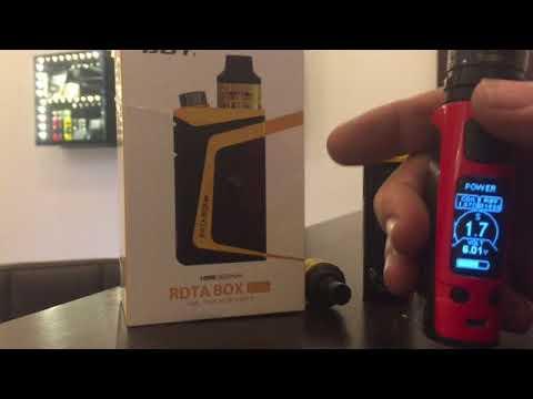 iJoy RDTA box mini. Problem: Changes of ohm / resistance