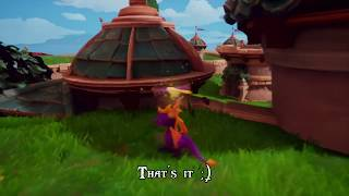Spyro: Reignited Trilogy: Skill Points - Burn the hidden pink tulip