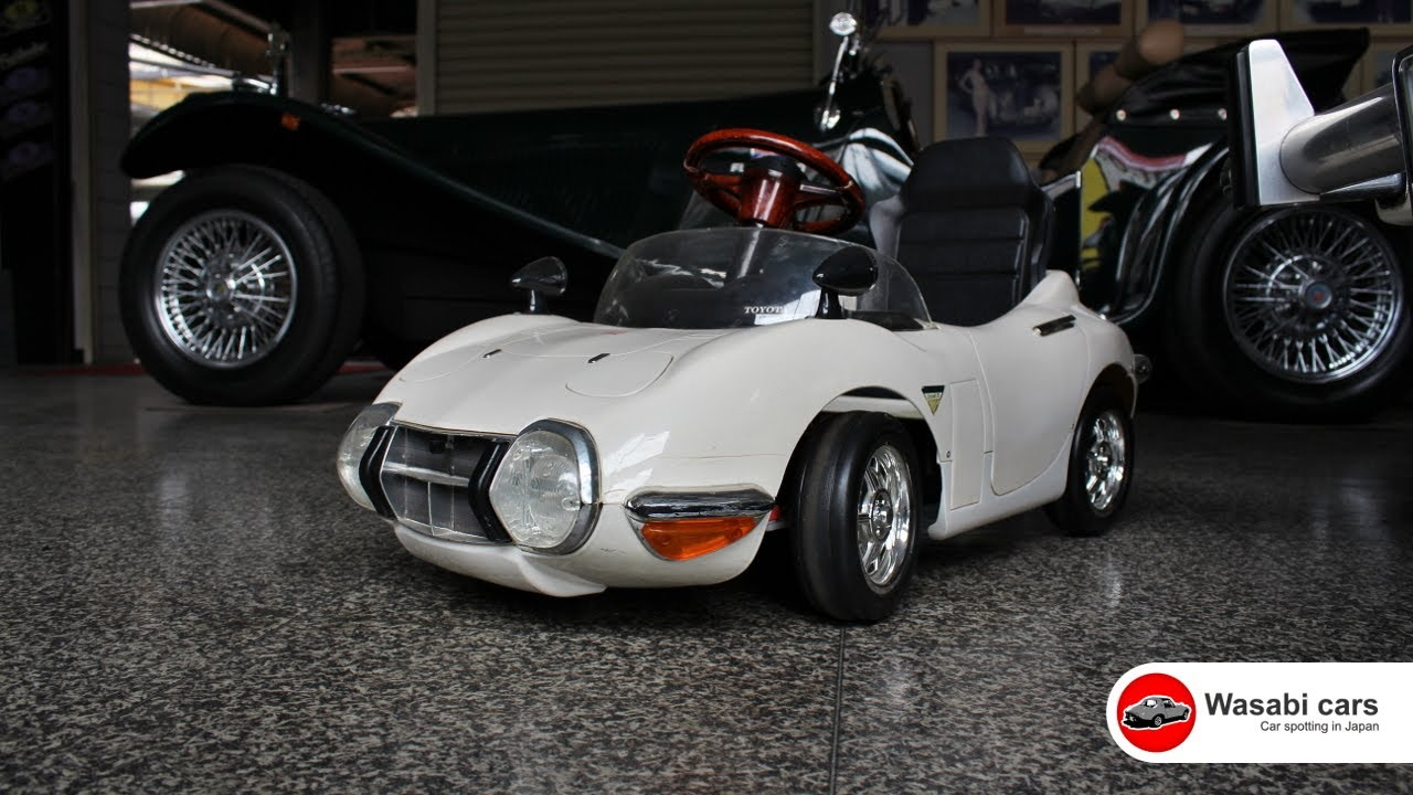 spotted a toyota 2000gt convertible ride on toy youtube. Black Bedroom Furniture Sets. Home Design Ideas