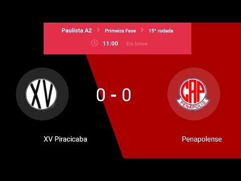 Campeonato Paulista A2| Xv de Piracicaba x Penapolense| Narração e campo virtual from YouTube · Duration:  2 hours 46 minutes 6 seconds