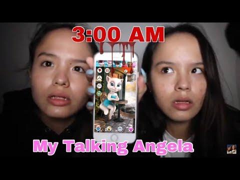 SEREM! Main Talking Angela Jam 3 Pagi