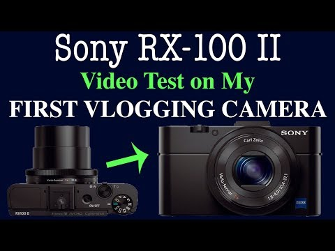 Sony RX-100 II (Used) — Unboxing and Video Test on My FIRST VLOGGING CAMERA