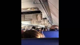 Showing the Horror After a Southwest Jet Engine Explodes, Nearly Ripping a Woman Out