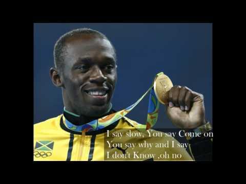 Hello Good bye Usain Bolt
