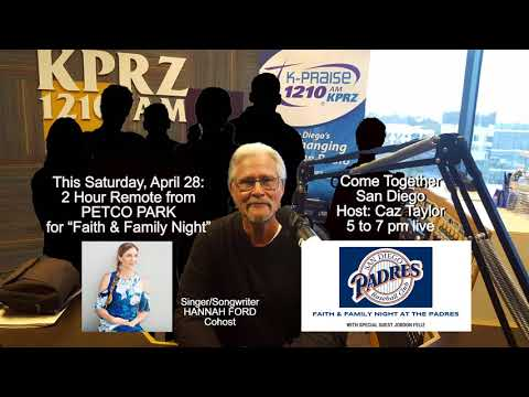Petco Park Come Together San Diego remote broadcast