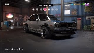 NFS Payback: Nissan Skyline 2000 GT-R [Offroad Build]