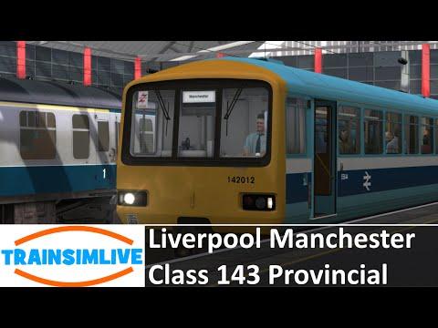 Train Simulator 2015 - Liverpool Manchester, Class 143 Provincial