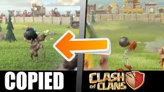 They Completely Copied Clash of Clans' New Commercial AGAIN!! New Clash of Clans Commercial Rip-off