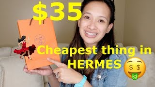 i buy the cheapest thing on hermes! //Cheers Marie!