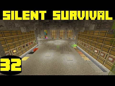 Silent Survival Episode 32 WORLD TOUR And MASS Storage Complete!😜 A Minecraft Let's Play [Xbox One]