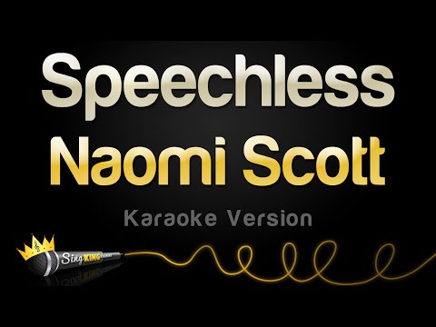 Cover Lagu Naomi Scott - Speechless (Karaoke Version) stafamp3