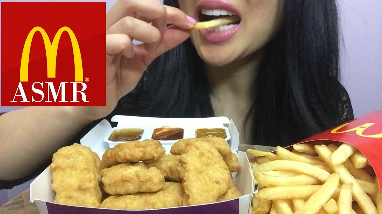Asmr Mcdonalds Chicken Nuggets Eating Sound Sas Asmr Youtube However, we can see him in some of her videos. asmr mcdonalds chicken nuggets eating sound sas asmr