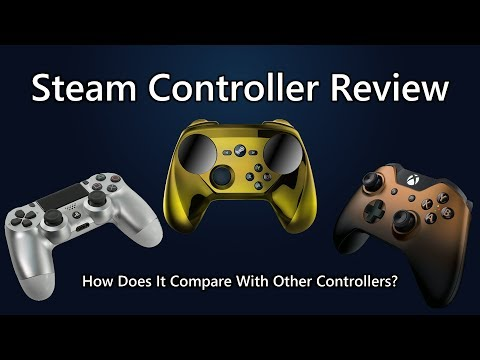 Steam Controller Review - How Does It Compare With Other Controllers?