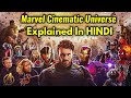 Marvel Cinematic Universe (MCU) Explained In HINDI | All 19 Marvel Movies Explained In HINDI