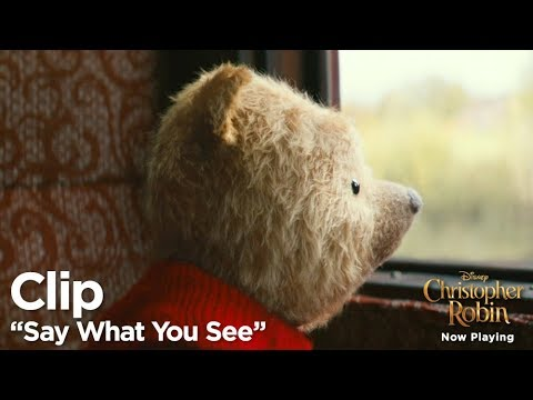 """Christopher Robin """"Say What You See"""" Clip"""