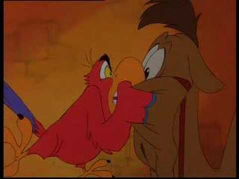 Aladdin The Return of Jafar - Iago - I'm Looking Out for Me