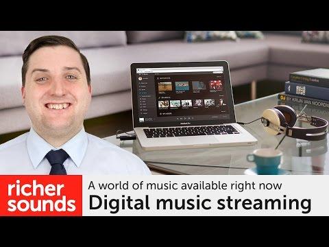 Digital music streaming | Richer Sounds