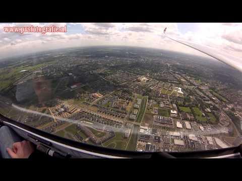2015-06-01 Zweefvlucht boven Apeldoorn vanaf Teuge (inc. Paleis het Loo)