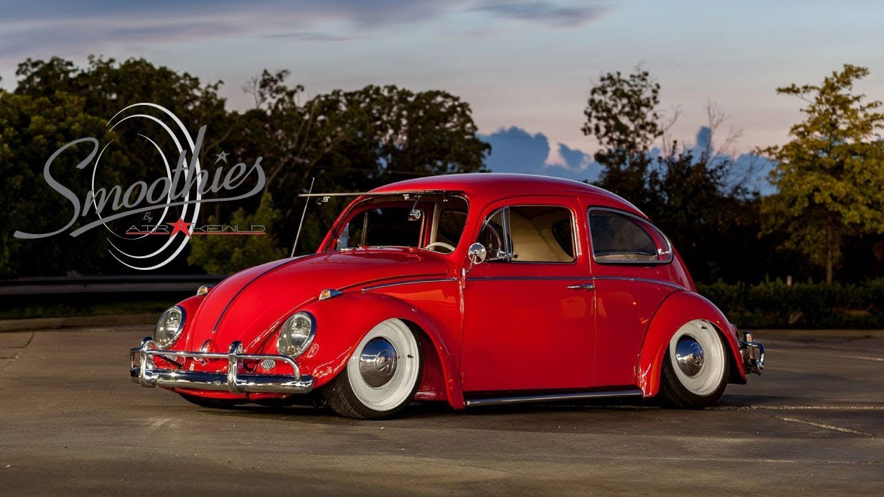 Vintage Volkswagen's that want to stand out and be envied by