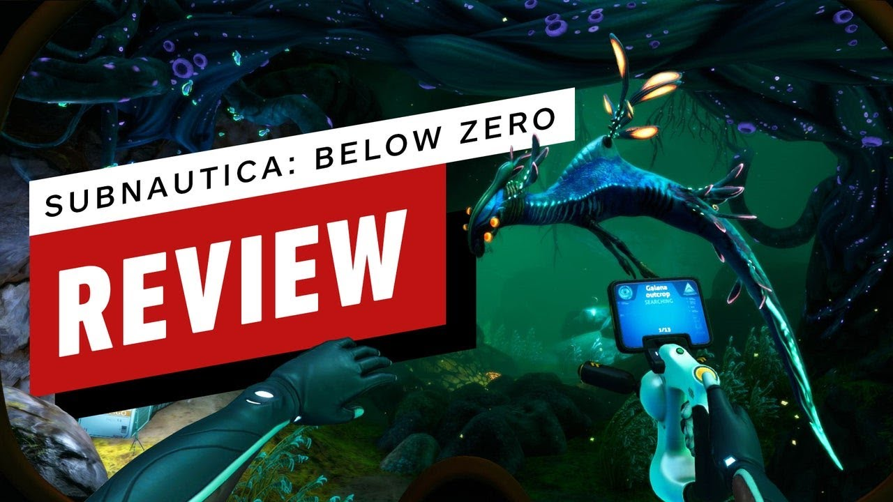 Subnautica: Below Zero Review (Video Game Video Review)