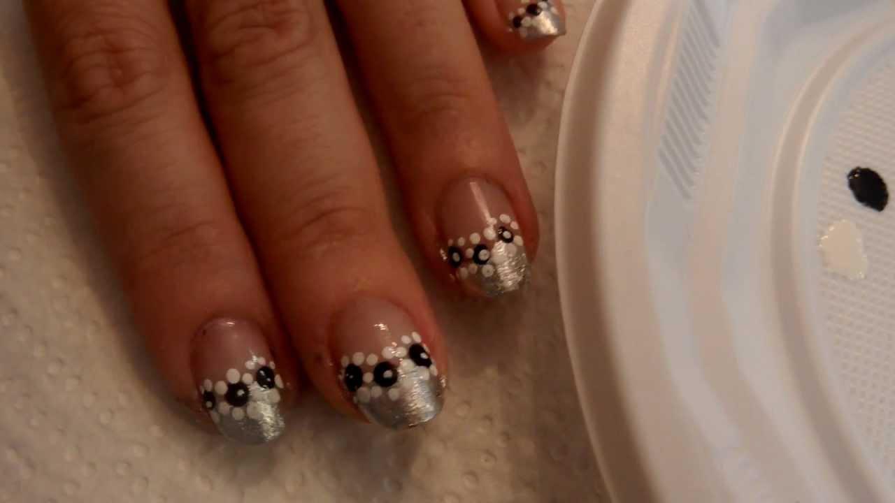 Tutorial Uñas Decoradas Nail Art Nº42 Pequeñas Margaritas Little