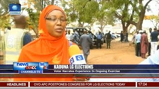 Kaduna LG Elections: Voter Laments Challenges With E-Voting Machine