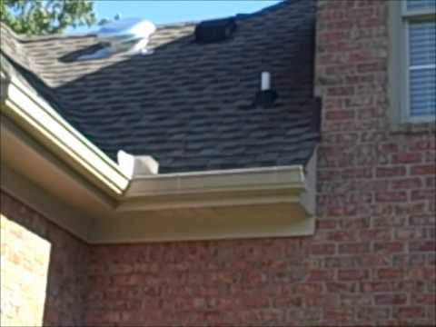 Improperly Mixed Roof Vents Discovered by Nashville Home Inspector.wmv