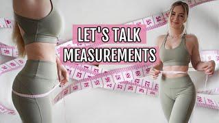 REVEALING MY MEASUREMENTS (How to measure your progress) screenshot 1