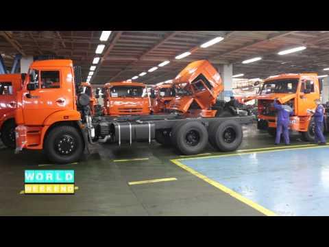 บุกโรงงาน คามาซ ผู้ผลิตรถบรรทุกรายใหญ่ของรัสเซีย