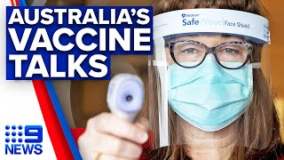 Coronavirus: Australia in talks to secure potential Oxford vaccine | 9News Australia