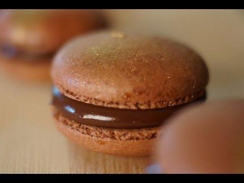 nutella macarons recept
