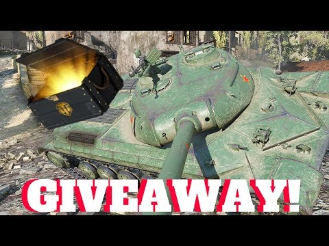 Awesome First Game + Giveaway WZ-111 1-4 WOT Console Chinese Heavy Tank | Indoor Man Gaming