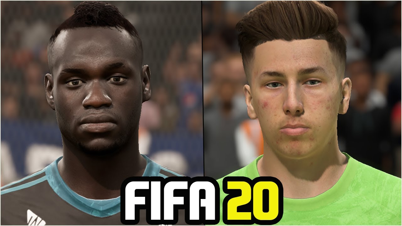 FIFA 20 | ALL (U-20) GK WITH REAL FACES