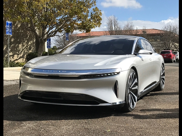 Lucid Air Car Test Drive 1 000 Horse Electric Luxury Sedan Business Insider