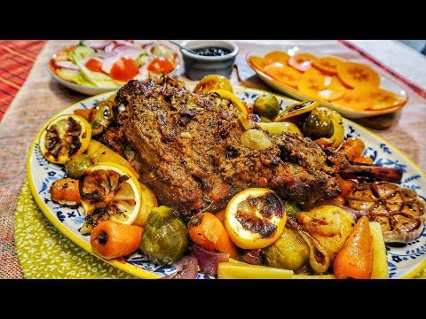 Roast Leg Of Lamb Indian Style | Indian Cooking Recipes | Cook With Anisa | #Recipes