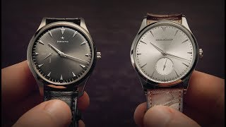 Jaeger-LeCoultre Vs Zenith - Ultra Thin | Watchfinder & Co.