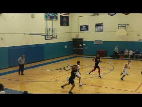 Gabby's trick shot Midland Adventist Academy Basketball November 19 2019