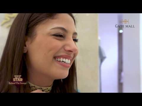 Shop With The Star -Behind The scenes Episode 4 (Marwa Ben Sghaier ) at The Gate Mall Kuwait