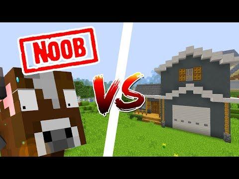 Khi Bò NOOB Trong Minecraft