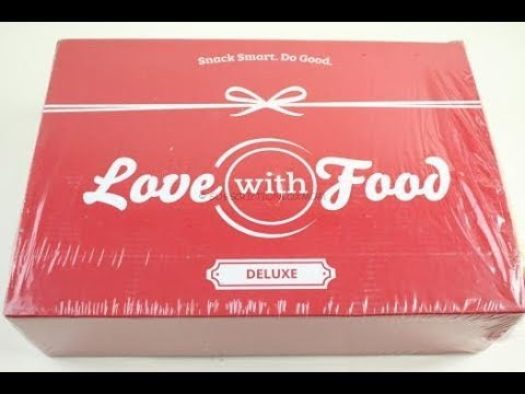 Love with Food Box May 2018