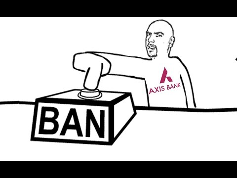 Ban On Private Sector Axis Bank's Licence ? Reaction By Selfie Queen