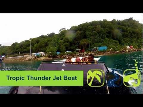 Vanuatu Tropic Thunder Jetboat - Vanuatu - The Tour Shop